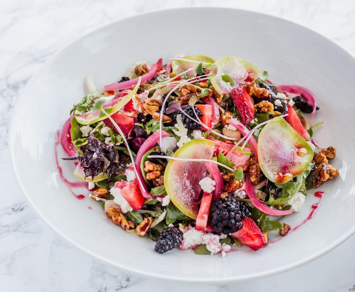 George-Bistro-Pensacola-FL-Wild-Blackberry-Salad